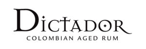 Logo Dictador Colombian Aged Rum black